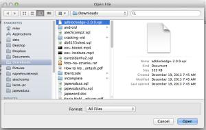 Install Firefox adblock edge