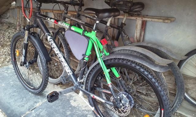 Bike wheel change