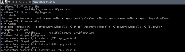 Control Spotify from CLI