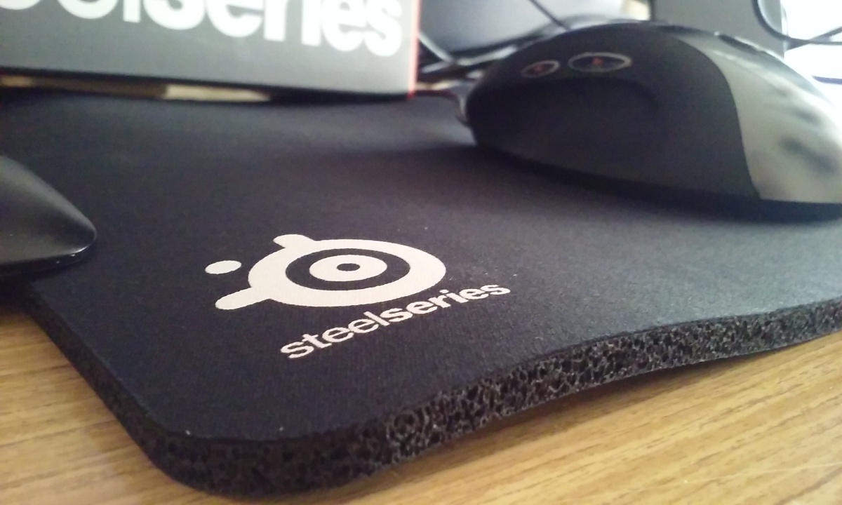 I just bought a thicker mousepad