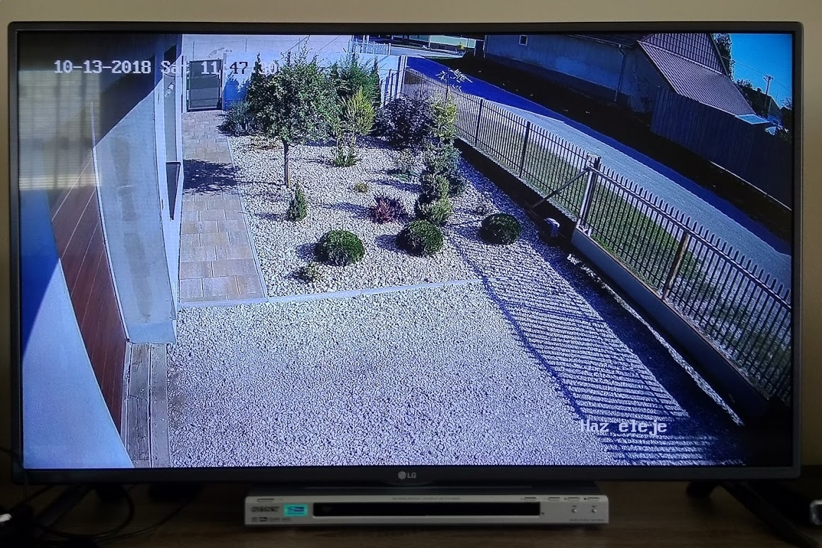 Hikvision NVR camera stream watching on LG TV